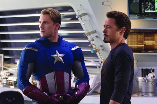 Steve Rogers and Tony Stark